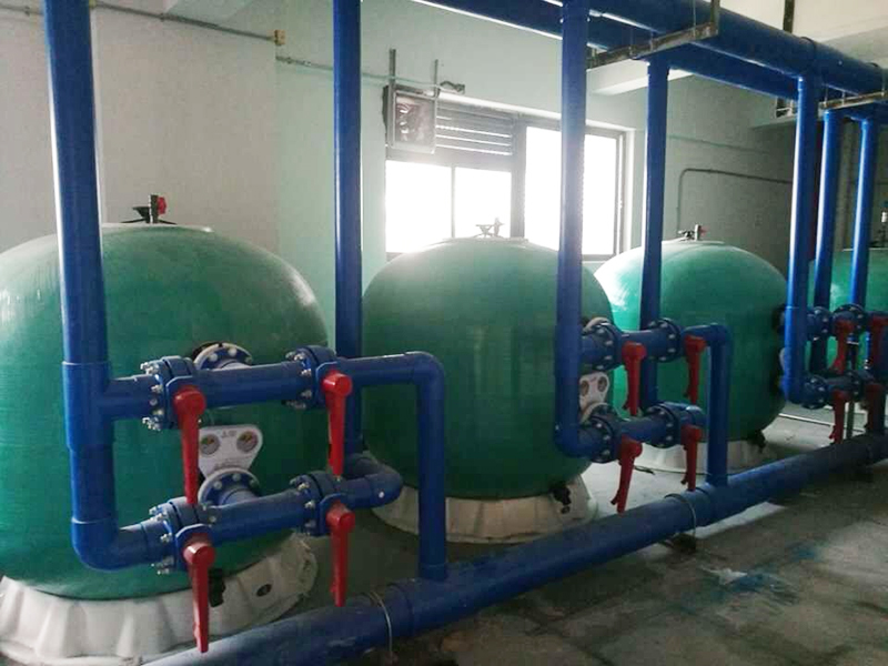 Dongguan Ruifeng Experimental School Swimming Pool, Hot Water Project
